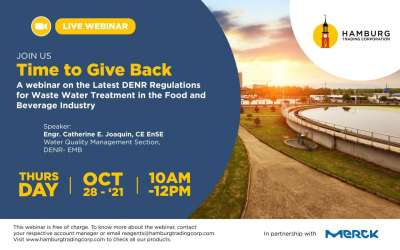 FREE WEBINAR: Time to Give Back, A Wastewater Management Webinar